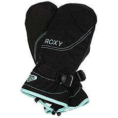 Варежки женские Roxy Rx Jetty True Black