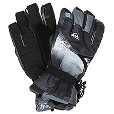 Перчатки Quiksilver Mission Glove Icey Check