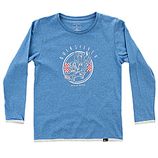 Лонгслив детский Quiksilver Lsclteboyoffici Turkish Sea Heather
