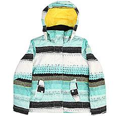 Куртка утепленная детская Roxy Jet Girl Aruba Blue
