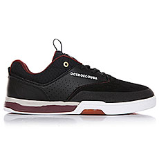 Кеды низкие DC Cole Lite Black/Oxblood