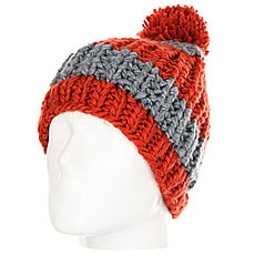 Шапка Quiksilver Shaw Beanie Ketchup Red