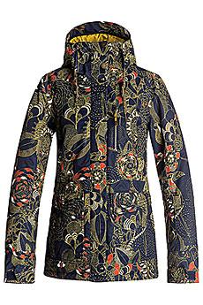 Куртка утепленная Roxy Andie Peacoat_hackney Empi