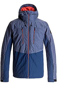 Куртка утепленная Quiksilver Mission Plus Estate Blue