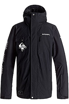 Куртка Quiksilver Mission Art Black