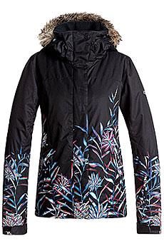 Куртка утепленная женская Roxy Jet Ski Se True Black_garden