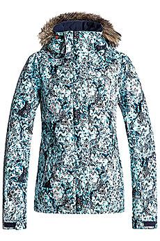 Куртка утепленная женская Roxy Jet Ski Aruba Blue_kaleidos