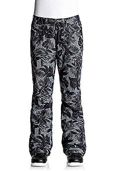 Штаны сноубордические женские Roxy Rifter Printed True Black_floral