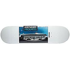 Дека для скейтборда Footwork Progress Vladivostok White 31.875 x 8.125 (20.6 см)