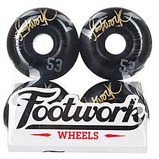 Колеса для скейтборда Footwork Tag Black 98A 53 mm