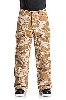 Штаны сноубордические DC Code British Desert Camo