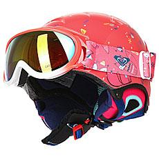 Шлем для сноуборда детский Roxy Misty Pack Neon Grapefruit foxe