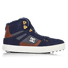 Кеды зимние DC Shoes Spartan Hi Wnt Navy