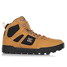 Ботинки высокие DC Shoes Spartan High Wr Wheat/Dk Chocolate