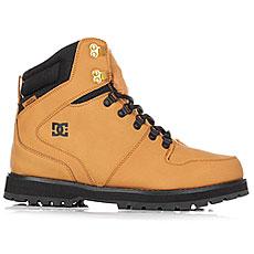 Ботинки высокие DC Peary Wheat/Black