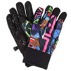 Перчатки детские Quiksilver Method Youth Quiky Print Gloves