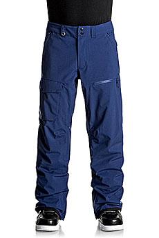 Штаны сноубордические Quiksilver Util Stretch Estate Blue