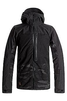 Куртка утепленная Quiksilver The Cell Black