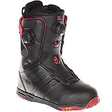 Ботинки для сноуборда DC Judge Black/Chili Pepper