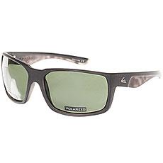 Очки Quiksilver Chaser Black/Plz Green