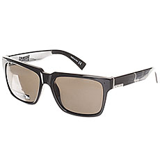 Очки Quiksilver Bruiser Shiny Black/Grey