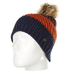 Шапка женская Roxy Hailey Beanie Hats Peacoat