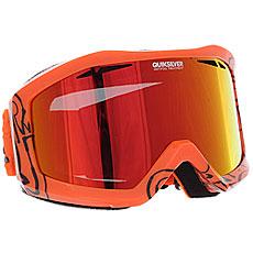 Маска для сноуборда Quiksilver Fenom Pack Mandarin Red