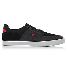 Кеды низкие DC Wes Kremer Black/Grey/Red