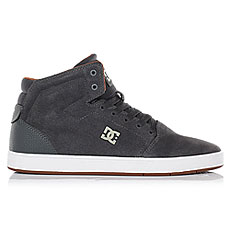 Кеды высокие DC Crisis High Grey/White