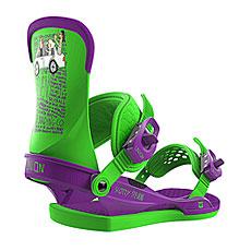 Крепления для сноуборда Union Contact Green/Purple