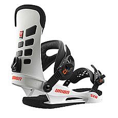 Крепления для сноуборда Union Str White/Black/Orange