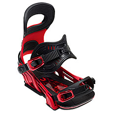 Крепления для сноуборда Bent Metal Transfer Black/Red
