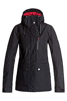 Куртка утепленная женская Roxy Andie True Black
