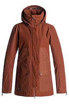 Куртка утепленная женская DC Panoramic Burnt Henna