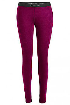 Термобелье (низ) женское Super Natural W Base Tight 175 Loganberry Melange