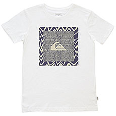 Футболка детская Quiksilver Nanospanoyouth White
