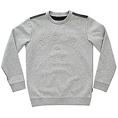 Свитшот детский Quiksilver Dubellcrewyth Light Grey Heather