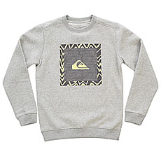 Свитшот детский Quiksilver Generaldunayth Light Grey Heather