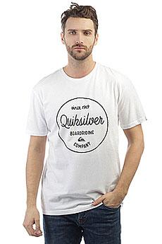 Футболка Quiksilver Clmornslides White