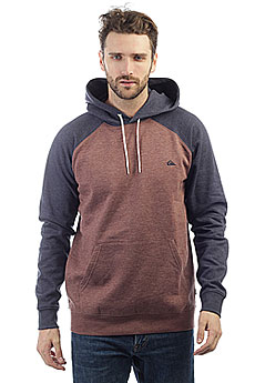 Толстовка кенгуру Quiksilver Everyday Hood Marron Heather