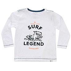 Лонгслив детская Quiksilver Surf Legend Boy White