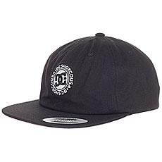 Бейсболка с прямым козырьком DC Core Twill Cap Black