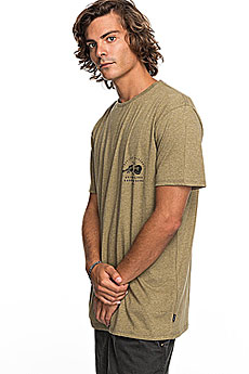 Футболка Quiksilver Orglonglosta Covert Green Heather