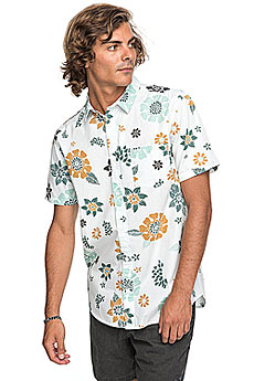 Рубашка Quiksilver Sunsetfloralss White Sunset Floral