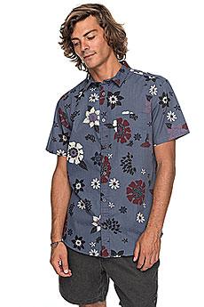 Рубашка Quiksilver Sunsetfloralss Vintage Indigo Sunse