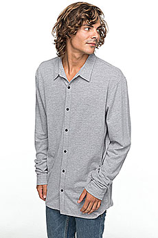 Рубашка Quiksilver Longeffect Light Grey Heather