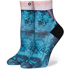 Носки высокие женские Stance Blue Collapsar