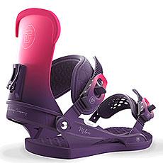 Крепления для сноуборда женские Union Milan Purple
