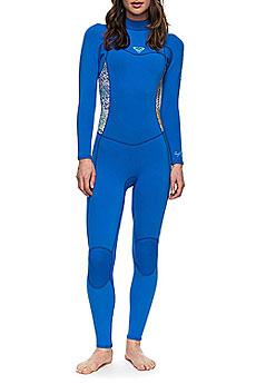 Гидрокостюм (Комбинезон) женский Roxy 32 Syn Bz Flt Sea Blue Ii