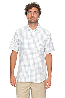 Рубашка в клетку Quiksilver Wakeplaid2 Snow White Wake Plai